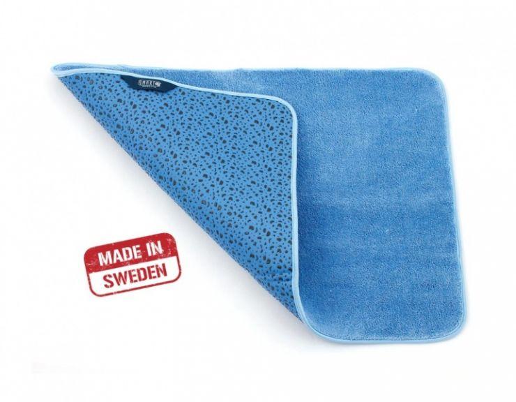Smart Microfiber Коврик для ванной комнаты 80х50 см голубой