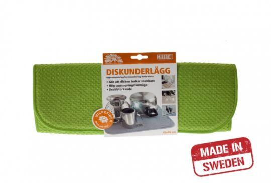 Smart Microfiber Коврик для посуды 41х46 см (зеленый)