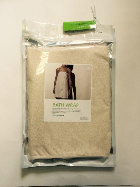 Smart Microfiber Полотенце для сауны белое