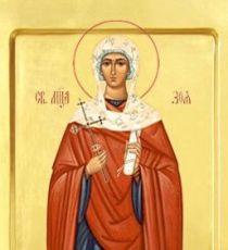 Икона Зоя Римская (рукописная)