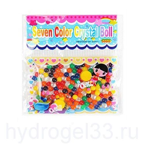 Аквагрунт разноцветный (120 шт)