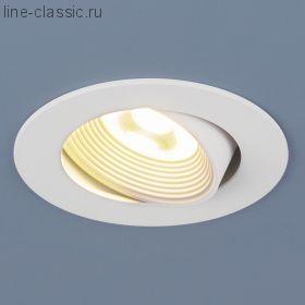 Точ/светильник ES DSS85 6W 4200K белый (WH)