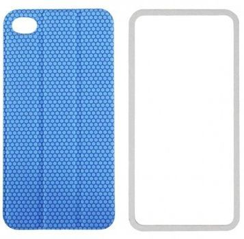 Чехол TT Design TidyTilt smart-cover для iPhone 4/4s голубой