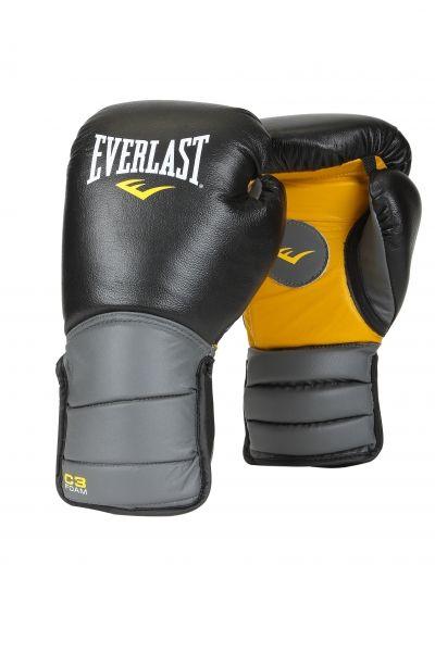 Лапы перчатки бокс. Эверласт Catch & Release черн/сер/желт., артикул 171101