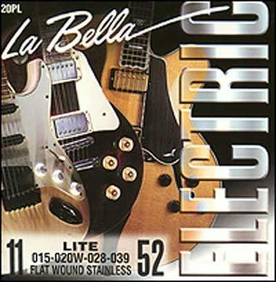 LA BELLA 20PL LIGHT (11-52) Струны для электрогитары
