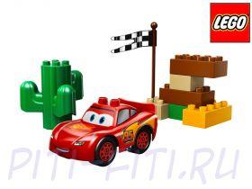 LEGO Duplo. Тачки. МакКуин Молния