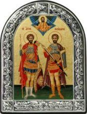 Федор Стратилат и Федор Тирон (10х13)
