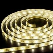 Светодиодная лента 5050 12 V 7.2 W 30 LED (диодов) на 1 м белая-теплая