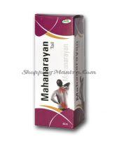 Маханараян масло для здоровья мышц и суставов Джайн Аюрведик /Jain Ayurvedic Mahanarayn Tail