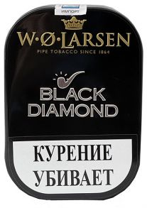 Табак W.O.LARSEN  BLACK DIAMOND 100гр