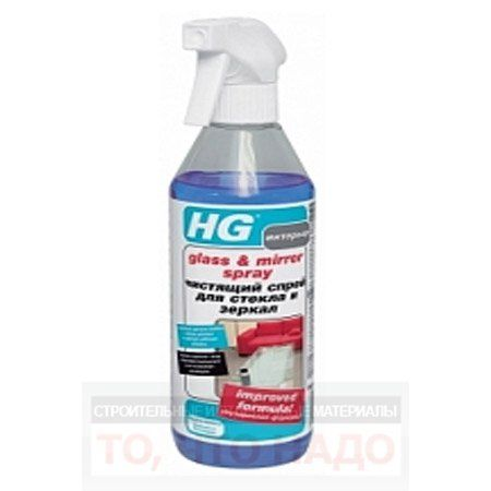 HG Чистящий спрей для стекла и зеркал