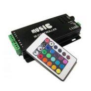 LED RGB аудиоконтроллер Music  12Вольт 120Вт