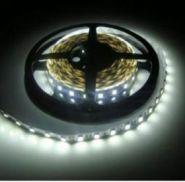 Светодиодная лента 5050 12 V 14.4 W 60 LED (диодов) на 1 м белая-холодная IP20
