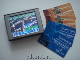 Навигатор Garmin NUVI 310 + Купон карт 3-ур. 2007