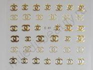 Наклейки 3D E-41 (золото)