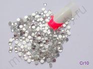 Стразы Swarovski прозрачные Crystal, размер #10 (50 шт.)