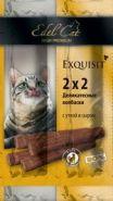Edel Cat Колбаски деликатесные с уткой и сыром (4 шт.)