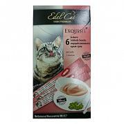 Edel Cat Крем-суп с лососем (6 шт.)