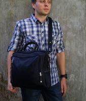 BUFALO TRP01 кожаный рюкзак-портфель-трансформер