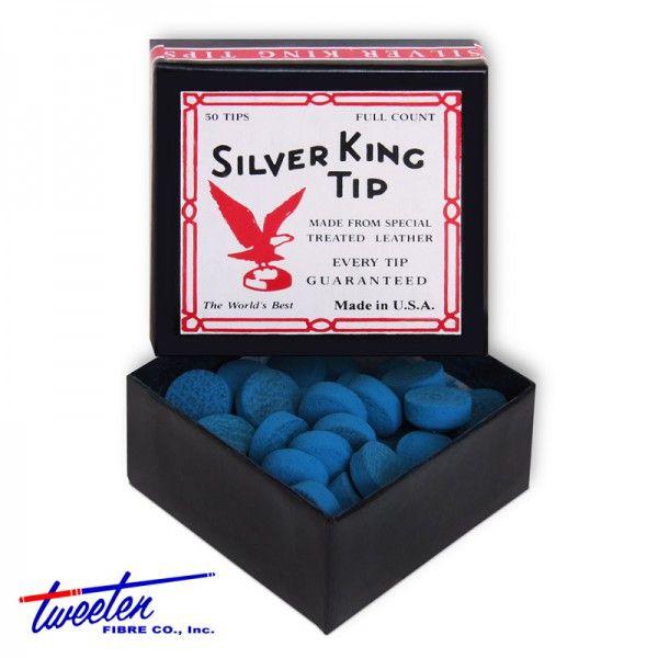 Наклейка для кия Silver King ø13мм 50шт. артикул 03441