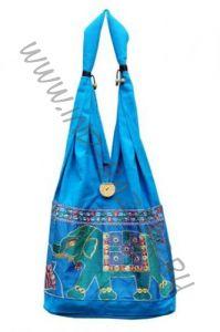 Голубая сумка со слоном