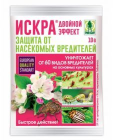 """""""Искра Двойной Эффект"""" 10г. таблетки от насекомых-вредителей."""