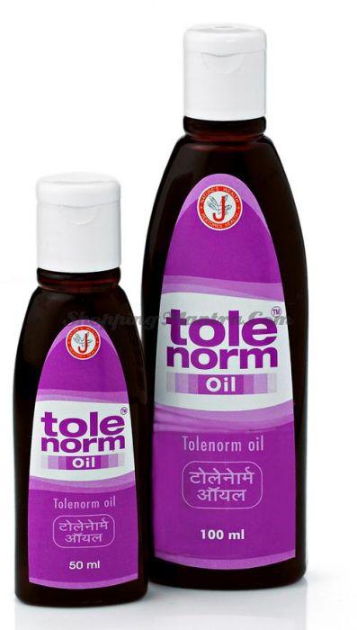 Масло Толенорм для лечения витилиго и гипопигментации Dr.J.R.K'S Siddha Tolenorm Oil