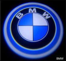 LED проекция, логотип Bmw, на 2 двери
