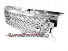 Решетка радиатора в стиле SPORT, хромированая