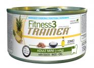 Trainer Fitness 3 Adult Mini Duck-Rice Для взрослых собак мелких пород на основе мяса утки и риса (150 г)