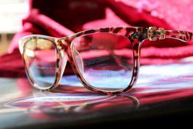 Брендовые очки без диоптрий Bourbon Liliya Leopard