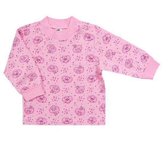 Комплект маек Цветы для девочки 2 шт.
