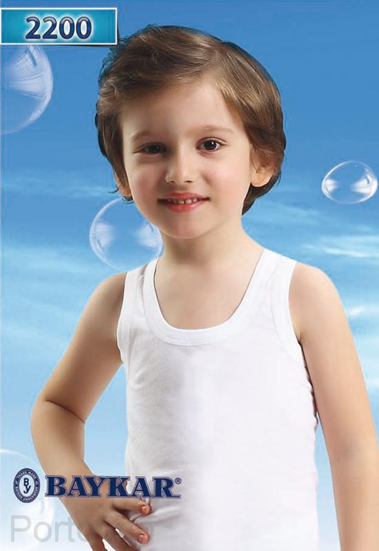 Майки для мальчиков Baykar ( 2 шт. в упаковке )