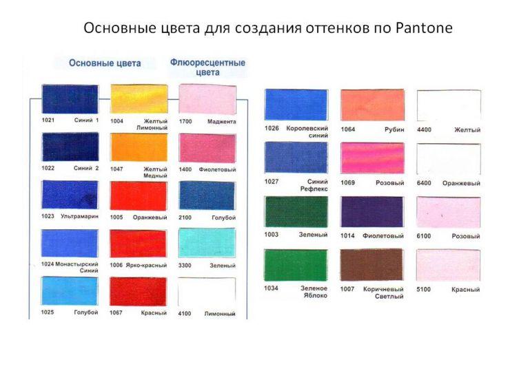 Краски серии HS