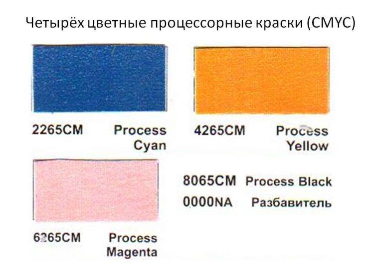 Краски серии МС