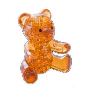3D головоломка Мишка (янтарный)