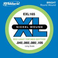 D`ADDARIO EXL-165 (045-105) Струны для бас гитары (4 стр.)