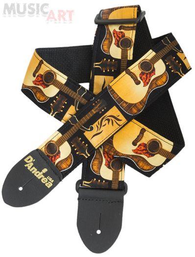 D'Andrea APFW33 Ремень для гитары