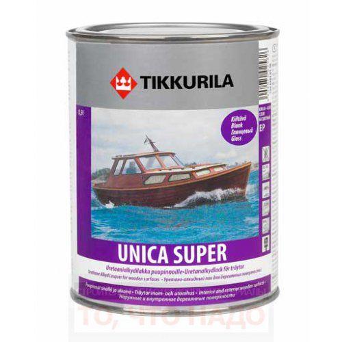 Лак Tikkurila Unica Super глянцевый