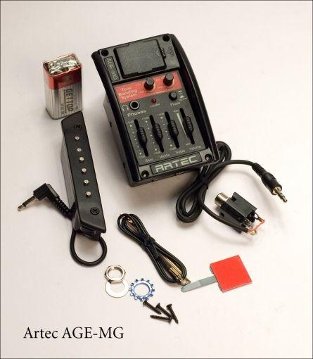 ARTEC AGE-MG Темброблок активный для акустической гитары