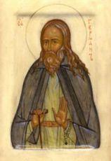 Герман Аляскинский (рукописная икона)