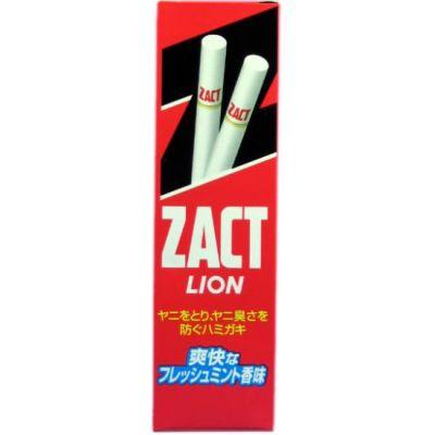 Зубная паста для устранения никотинового налета и запаха табака Lion