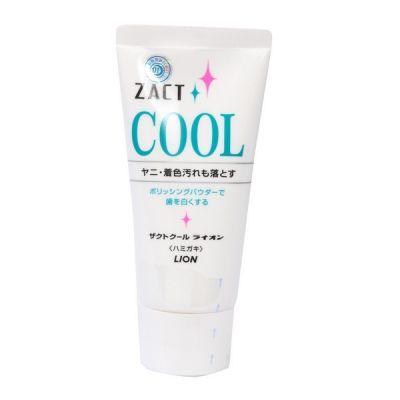 """766681 """"ZACT COOL"""" Паста зубная (с отбеливающим эффектом для курящих) (туба) 130 г."""