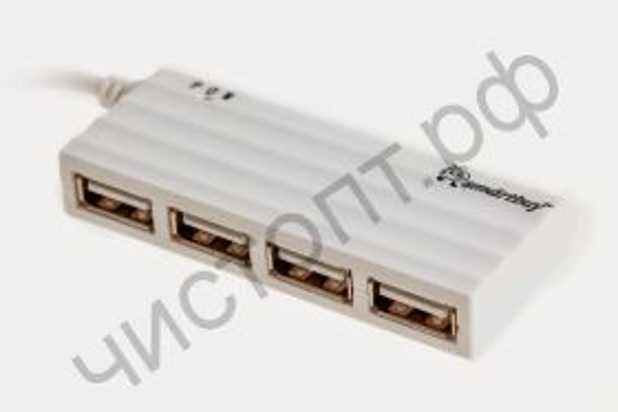 USB HUB USB-хаб Smartbuy 6810 4 порта белый (SBHA-6810-W)