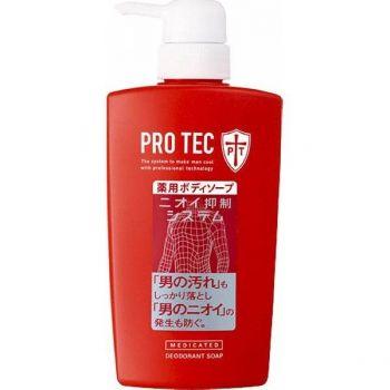 Мужское Жидкое мыло для тела  PRO TEC  Lion 330мл, мягкая упаковка