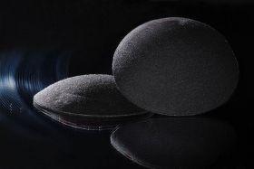 Вкладыши для бюстгальтера многоразовые (4 шт.), чёрный