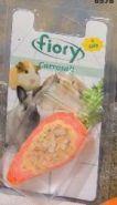 FIORY Carrosalt Био-камень для грызунов с солью в форме моркови (65 г)