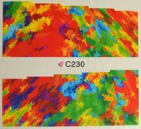 Водная наклейка для дизайна ногтей С 230