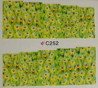 Водная наклейка для дизайна ногтей С 252