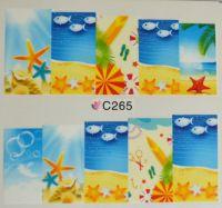 Водная наклейка для дизайна ногтей С 265